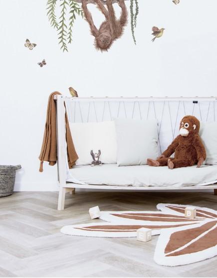 Kilimas vaiko kambariui. Atogražų lapas
