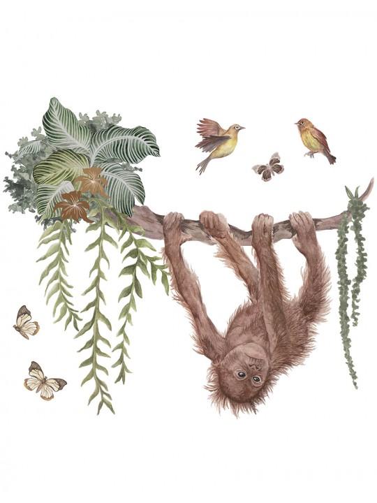 Interjero dekoracija. Orangutangas