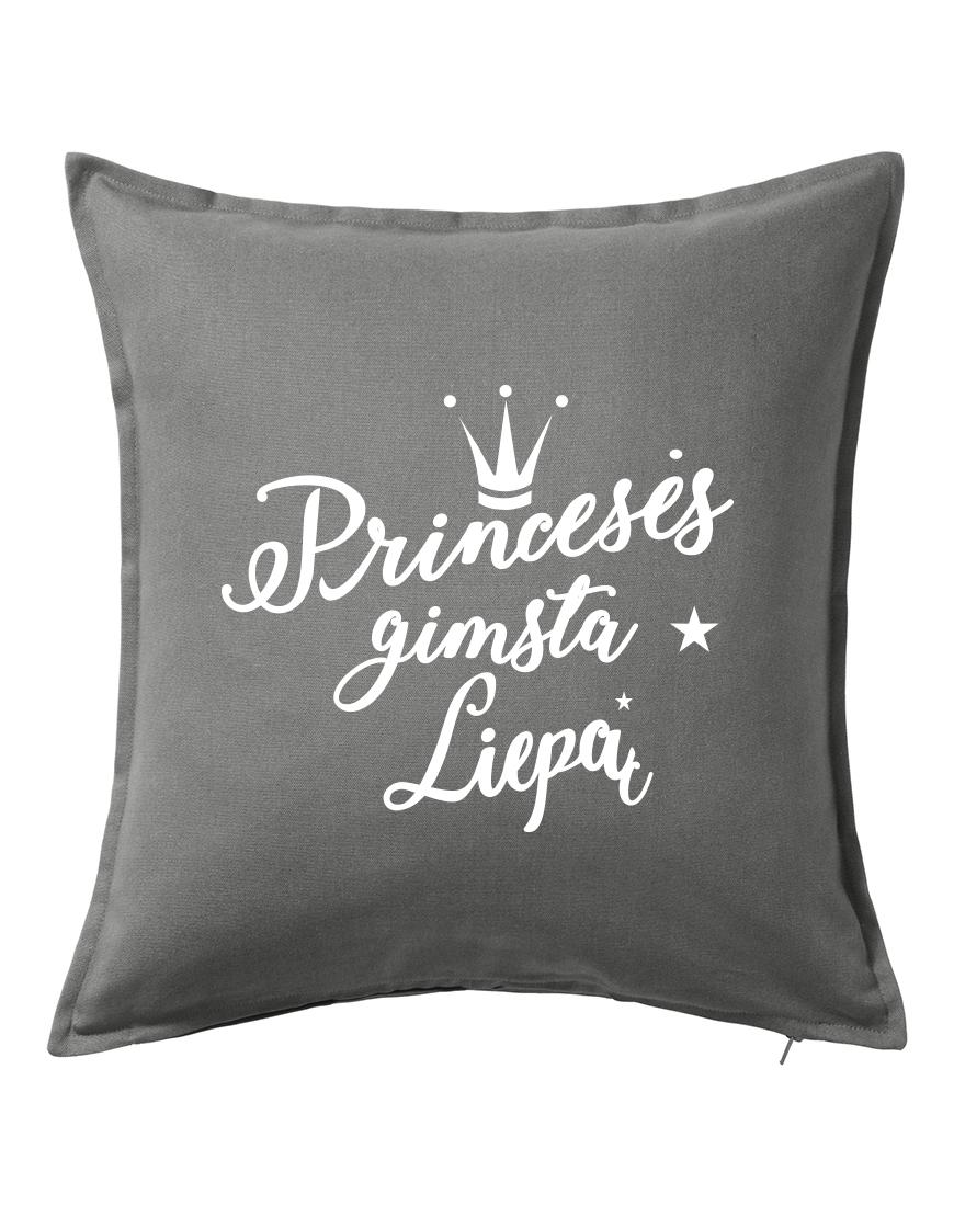 Princesės gimsta liepą. Dekoratyvinė pagalvėlė