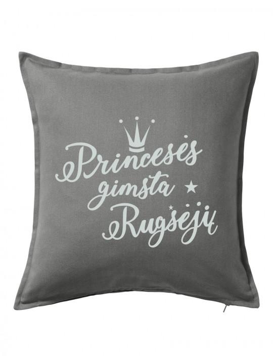 Princesės gimsta rugsėjį. Dekoratyvinė pagalvėlė