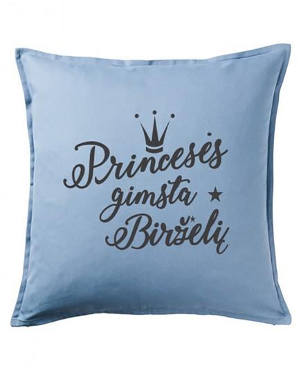 Princesės gimsta birželį. Dekoratyvinė pagalvėlė