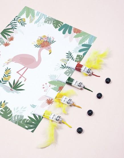 Paveikslas. Flamingas