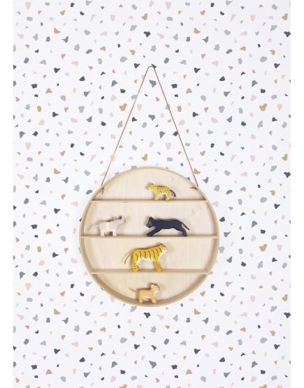 Mozaika. Vaikiški tapetai