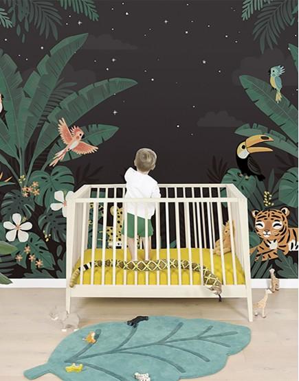 Džiunglių sapnas. Tapetai vaikams