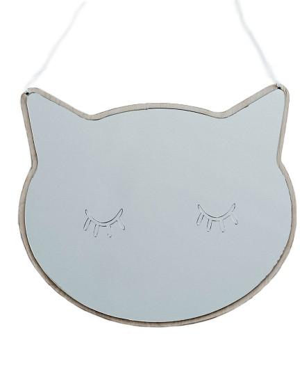 Dekoratyvinis veidrodis. Katinas