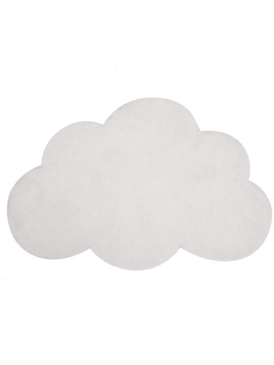 Baltas debesėlis. Kilimas vaiko kambariui