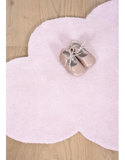 Rausvas debesis. Vaikiškas kilimėlis