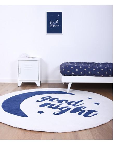 Apvalus vaikiškas kilimėlis
