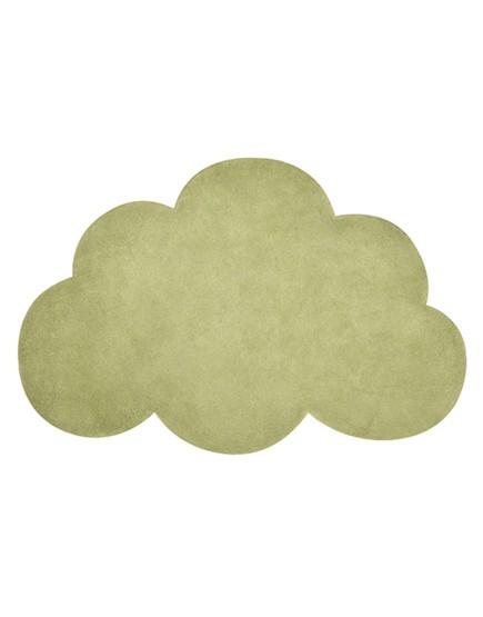 Vaikiškas kilimas - debesėlis. Samanų žalia