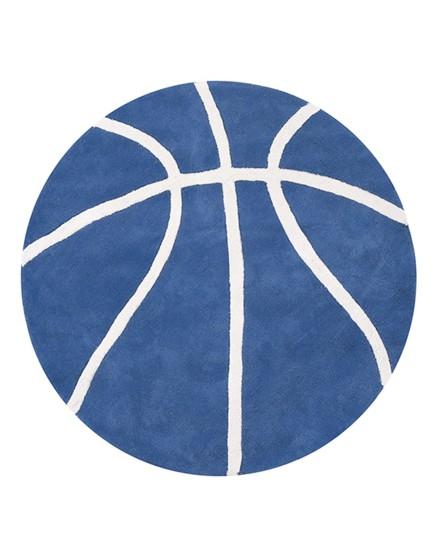 Krepšinio kamuolys. Apvalus kilimėlis berniukui