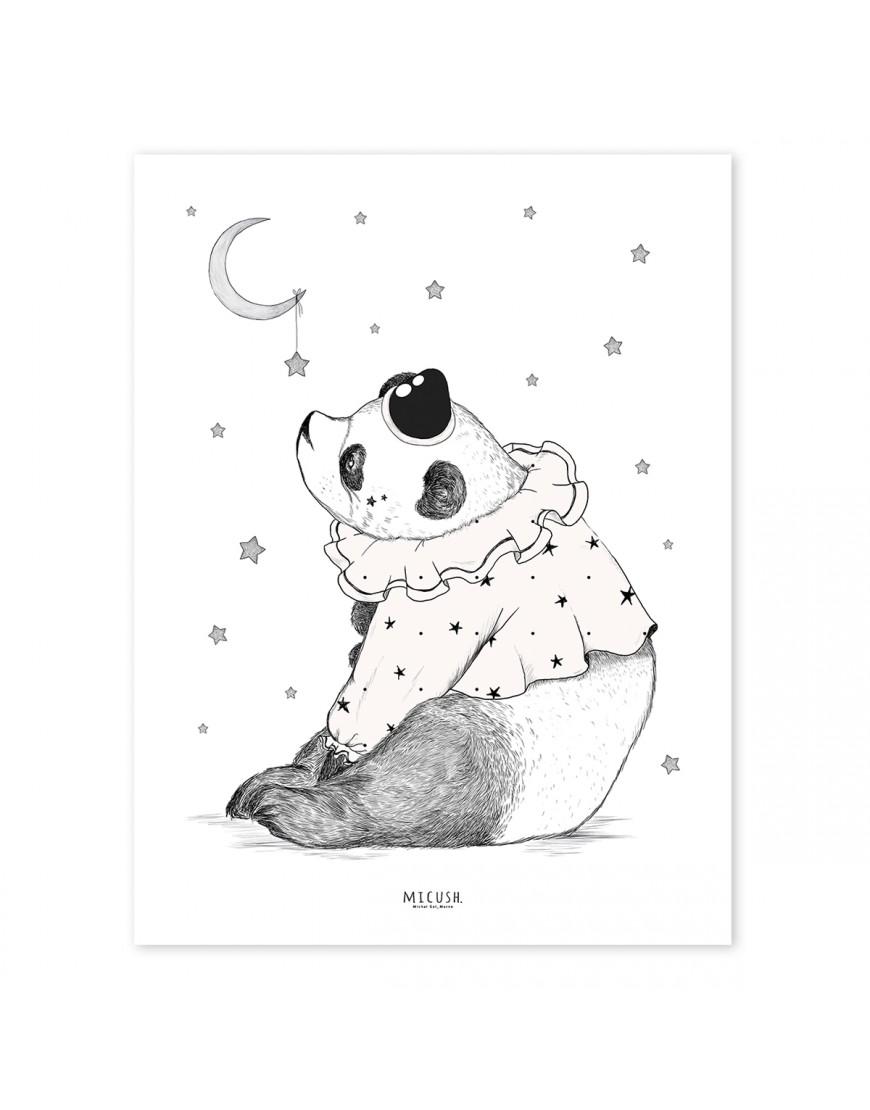 Panda. Stilingas paveikslas
