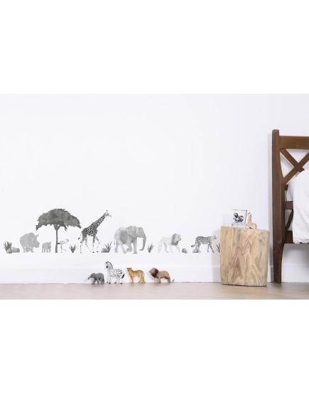 Sienų lipdukai  - Laukiniai gyvūnai