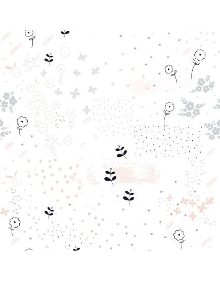 Tapetai. Gėlių žiedai