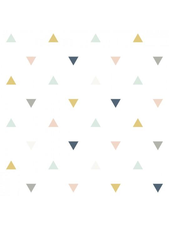 Trikampių raštai. Tapetai