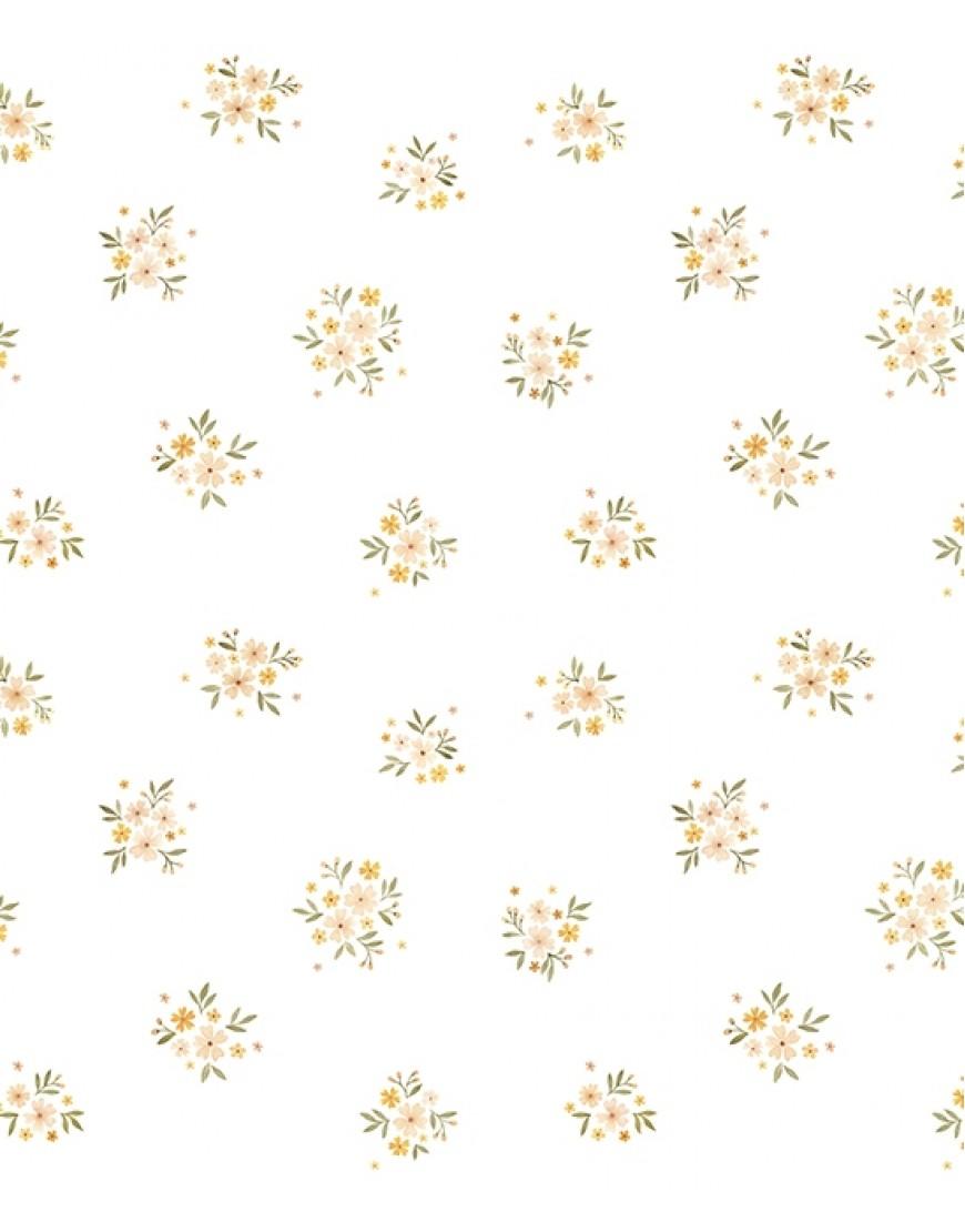 Tapetai. Vintažinės gėlės