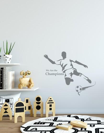 Futbolininkas. Interjero dekoracija