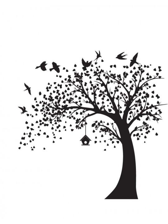 Medis. Stilinga interjero detalė