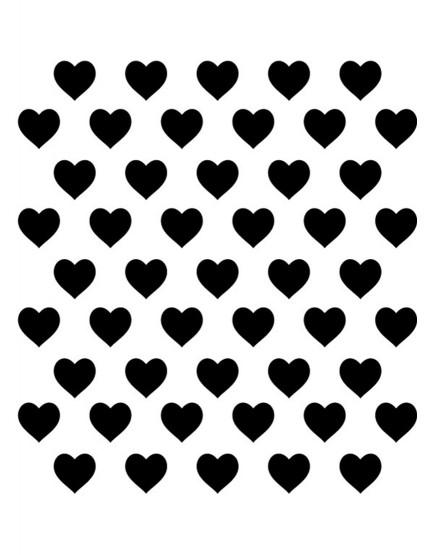 Širdelės. Sienų dekoracijos vaiko kambariui