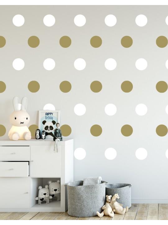 Taškeliai. Vaikiška sienų dekoracija
