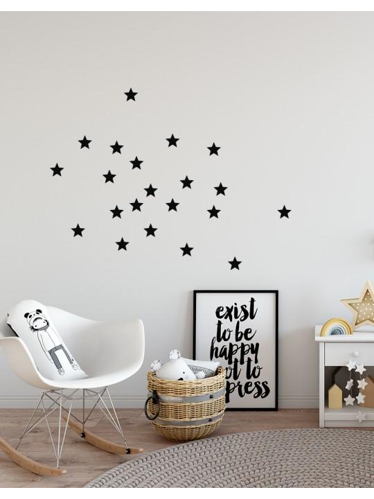 Žvaigždės. Sienų dekoracijos